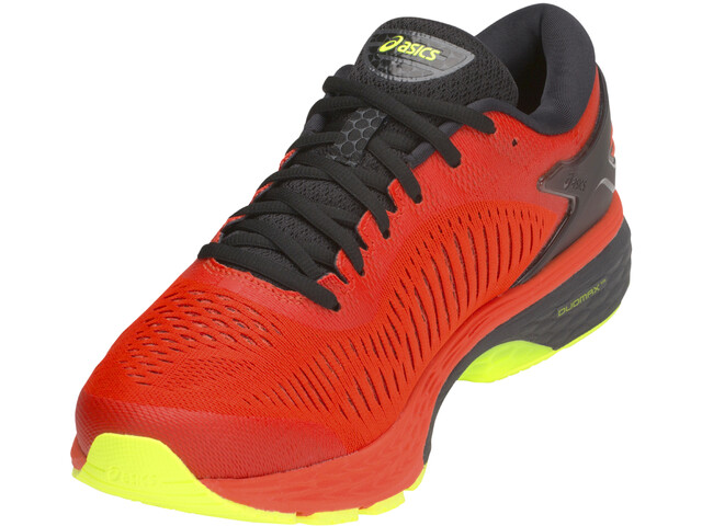 asics Gel-Kayano 25 Zapatillas running Hombre, cherry tomato/safety yellow